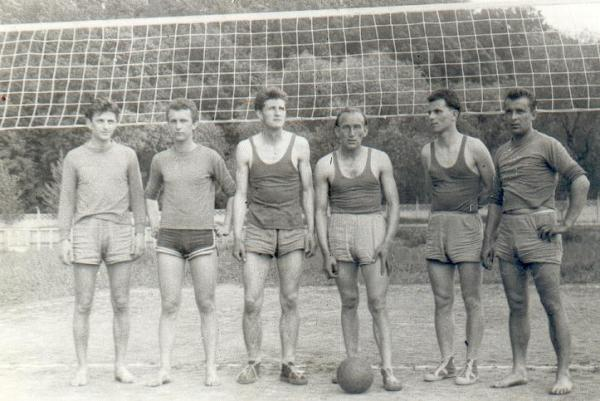 2, Tadeusz Walkowski, Stanisław Kurek, Leszek Mróz, Zdzisław Kostkiewicz, Andrzej Kazek, Ryszard Leszega