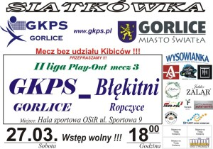 Błękitni Play-Out mecz 3